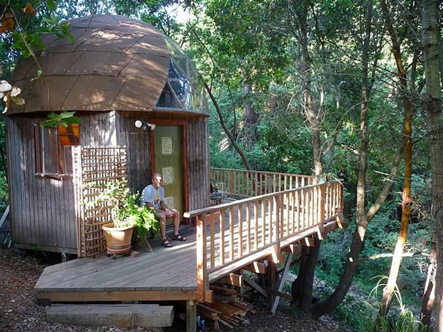 Mushroom Dome Airbnb