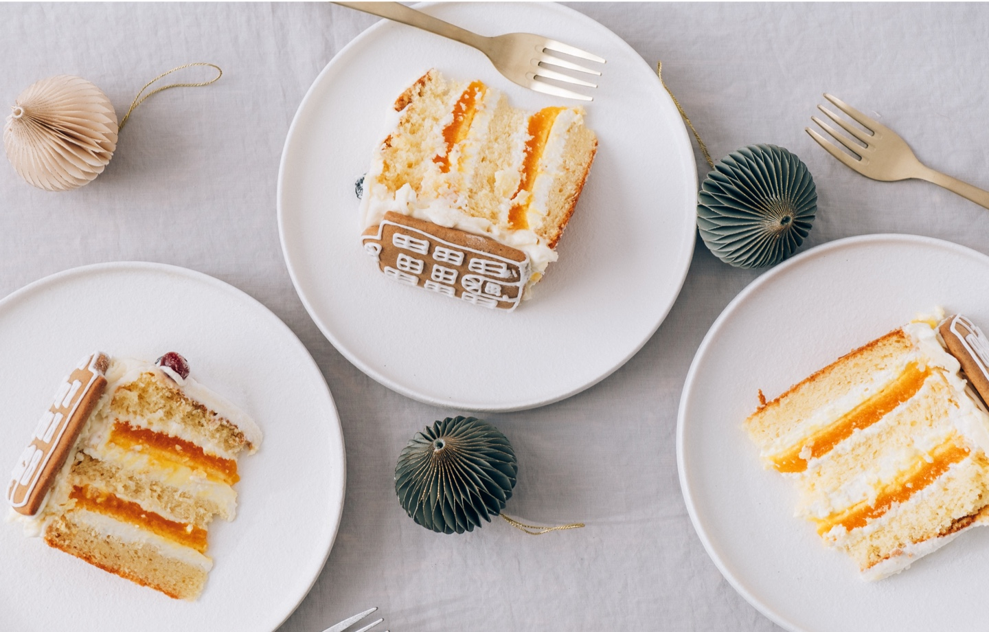 Slices of Orange Gingerbread Cake Header Bakers Against Racism
